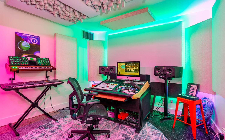 Small Music Recording Studio