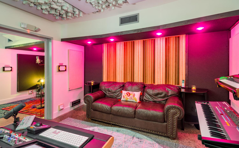 Small Recording studio Seating