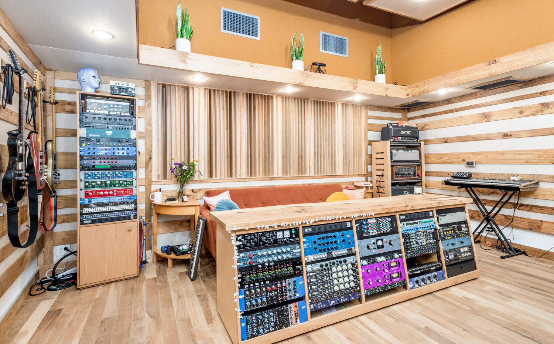 control room for music Recording studio